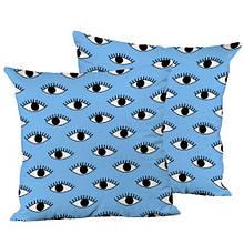 Декоративная подушка шелк интерьерная, размер 45*45 см