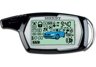 Сигнализация SHERIFF 1090 автозапуск