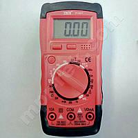 Цифровий мультиметр YINTE YT-0827 (500В, 10А, 2МОм, hFE, тест батарей, продзвонювання), фото 1