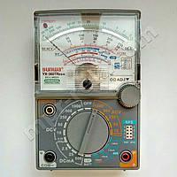 Мультиметр аналоговий SUNWA YX-360TRES-H (1000В, 10A, 2МОм, hFE, тест батарей, продзвонювання), фото 1