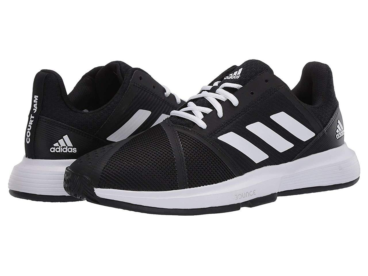 Кроссовки/Кеды adidas CourtJam Bounce Core Black/Footwear White/Matte Silver