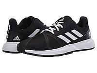 Кроссовки/Кеды adidas CourtJam Bounce Core Black/Footwear White/Matte Silver, фото 1