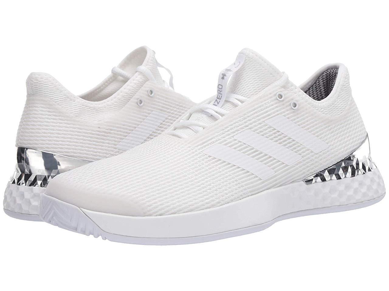 Кроссовки/Кеды adidas Adizero Ubersonic 3 Footwear White/Footwear White/Silver Metallic