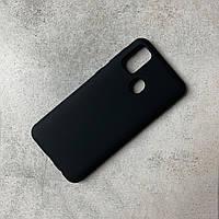 Чохол-накладка Silicone Cover Wave Full Protective Samsung M30s Black