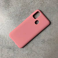 Чохол-накладка Silicone Cover Wave Full Protective Samsung M30s Light pink