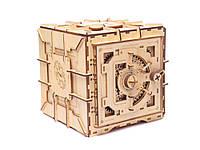 Коробка головоломка 3D деревянная