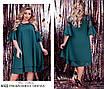 Платье шифоновое свободного кроя 50-52,54-56,58-60,62-64, фото 4