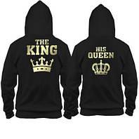 Парные толстовки The King - his Queen