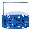 Лазерный проектор, стробоскоп, диско лазер SF-A1 2 в 1 c триногой Синий, фото 5