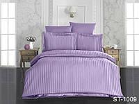 Двуспальныйкомплект постельного белья из страйп-сатина ST-1009