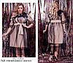 Платье вечернее украшено кружевомкреп костюмка 48-52,54-58, фото 2
