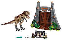 Lego Jurassic World Парк Юрского периода ярость Ти-Рекса 75936