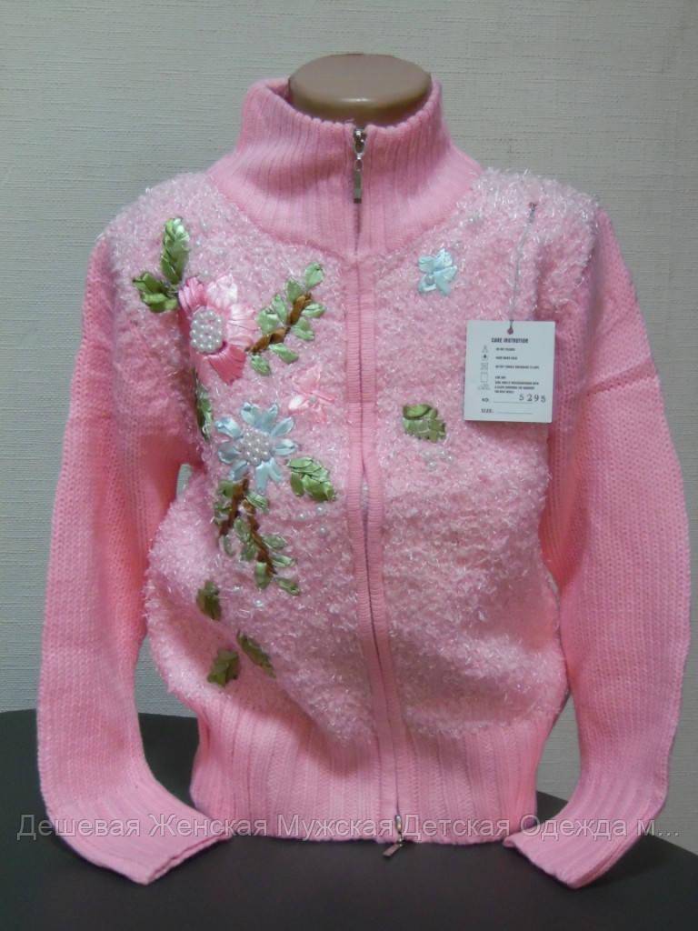 Свитер детский розовый