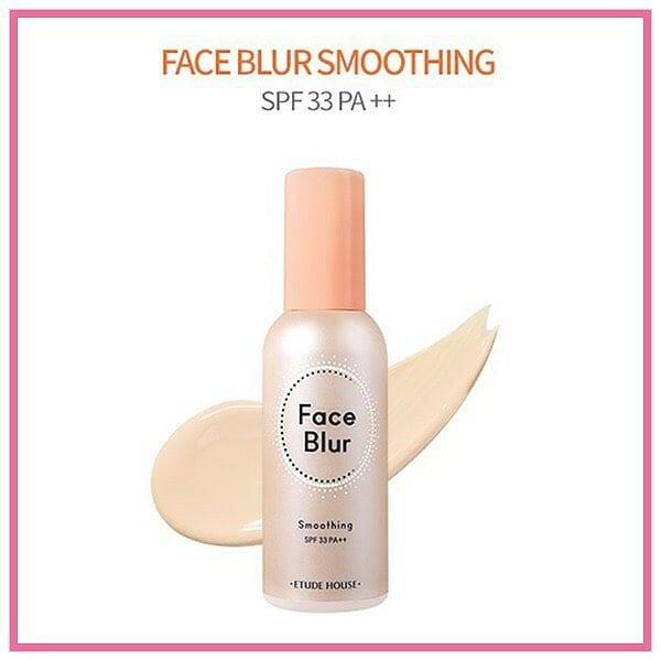 База под макияж с эффектом фотошопа Etude House Face Blur smoothing Праймер SPF 33 PA++ 35г