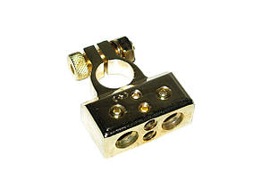 Клемма аккумулятора Sound Bridge GOLD 24К (+) 51P