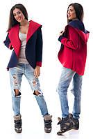 Пиджак-куртка двусторонняя с капюшоном