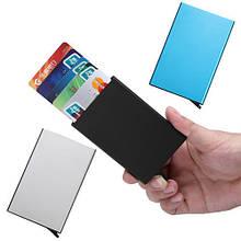 Кредитница картхолдер визитница карточница карманная металл
