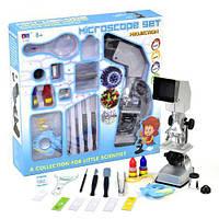 """Детский игрушечный микроскоп """"Microscope Set"""" 20 деталей 3106А"""