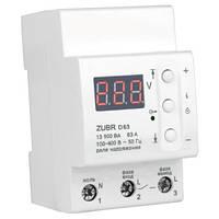 ZUBR D 63t — реле для защиты всего дома или квартиры.