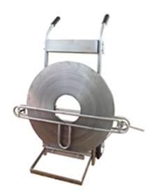 Тележка-размотчик ТР-104 для стальной бандажной ленты