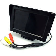 4.3 монитор для подключения камеры заднего вида