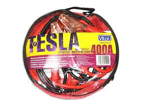Провода прикуривателя 400 А 2,5м в чехле Tesla (компл.)