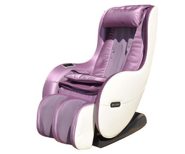 Массажное кресло для тела ZENET ZET 1280 сиреневое