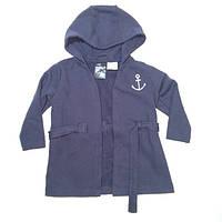 Халат для хлопчика 086 см (12-18 months) темно-синій  H&M 58172