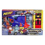 Бластер Nerf стреляющий машинкамиNerf Nitro FlashFury Chaos, фото 2