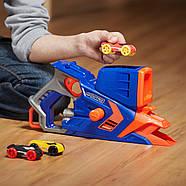 Бластер Nerf стреляющий машинкамиNerf Nitro FlashFury Chaos, фото 8