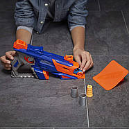 Бластер Nerf стріляє машинками Лонгшот Nerf Nitro LongShot Smash (еко упаковка), фото 5