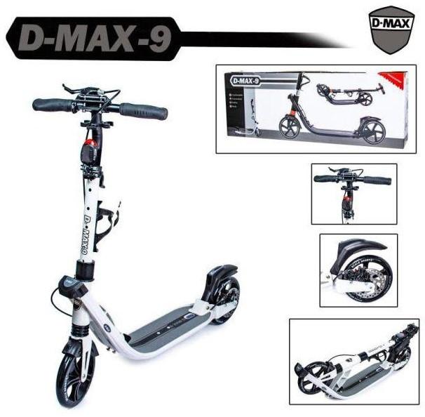 Самокат детский двухколесный для мальчика девочки 7 8 9 лет Scale Sports D-Max-9.