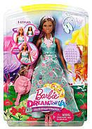 """Лялька Barbie Принцеса """"Чарівні волосся"""" Dreamtopia Color Stylin' Princess, фото 2"""