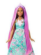 """Лялька Barbie Принцеса """"Чарівні волосся"""" Dreamtopia Color Stylin' Princess, фото 9"""