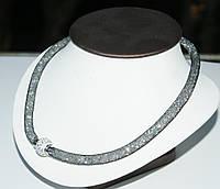 Модное колье в стиле Сваровски с кристаллами от Бижутерии оптом RRR. 427