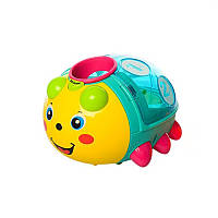 Игрушка-сортер METR+ Жук-сортер Разноцветный (855-24A)