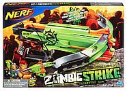 Бластер-арбалет Nerf Зомби Страйк КроссФайр Zombie Strike Crossfire Bow, фото 3