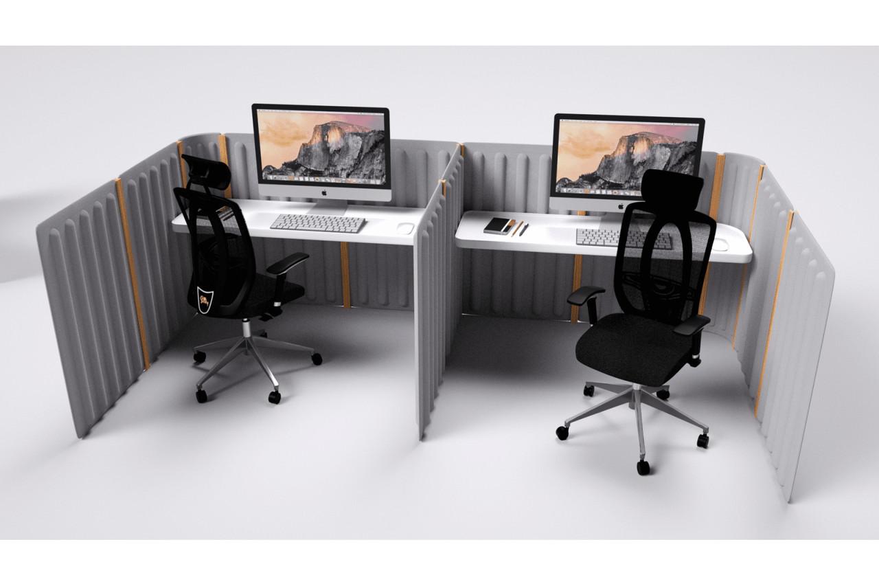 Офисные модули на 2 места
