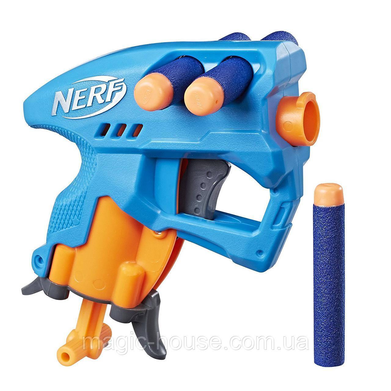 Бластер Нерф Нано Фаер (Голубой) Nerf N-Strike NanoFire (blue)