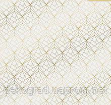 Бумага для скрапбукинга с фольгированием «Грани», 30.5 × 30.5 см,
