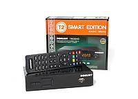 ROMSAT-T8030HD Smart - DVB-T2/C Тюнер Т2 с интернет приложениями и кабельным ТВ, фото 1