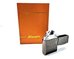 Электрическая зажигалка USB Lighter Honglu (ART-0187) Черная