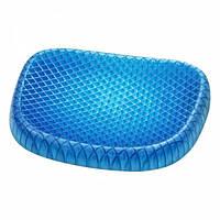 Подушка гелевая WOW Egg Sitter ортопедическая для сидения + чехол
