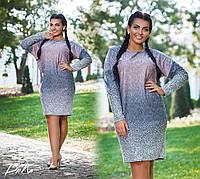 Женское платье 41136 большой размер (50/52, 54/56) СП
