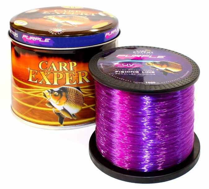 Леска фидерная Carp Expert UV Purple 1000 м 0.25 мм 8.9 кг