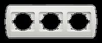 Рамка тройная горизонтальная черный El-bi ZIRVE