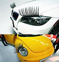 """Реснички на фары автомобиля - """"Eyelashes"""" 3 D реснички для автомобильных фар"""
