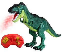 Динозавр на радио управлении со светом и звуком.