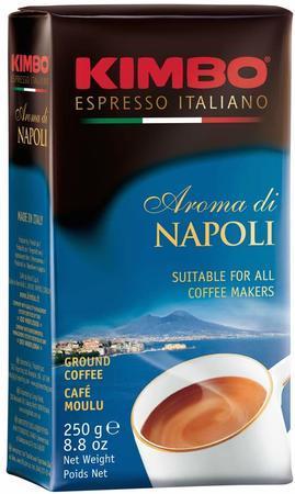Кофе KIMBO Aroma di Napoli молотый 250 г