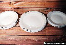 Столовый сервиз из белых волнистых тарелок Luminarc Feston 19 пред (14977), фото 3